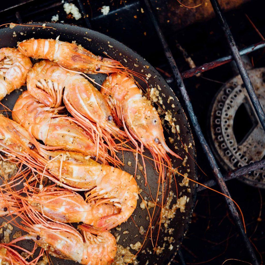Hawaiian Deep Sea Shrimp